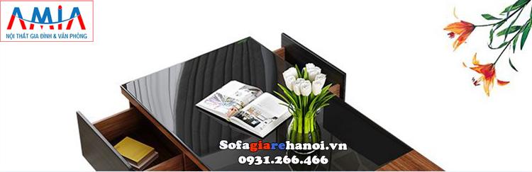Hình ảnh Bàn trà kính giá rẻ hiện đại cho phòng khách đẹp