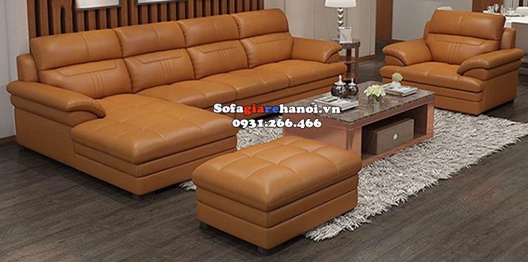 Hình ảnh Bộ bàn ghế sofa phòng khách lớn cao cấp đặt làm theo yêu cầu riêng