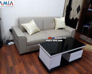 Hình ảnh Ghế sofa văng nhỏ giá rẻ Hà Nội cho phòng khách nhỏ xinh