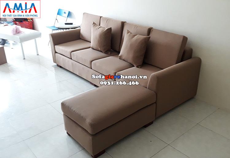 Hình ảnh Ghế sofa văng nỉ giá rẻ Hà Nội kích thước nhỏ cho phòng khách