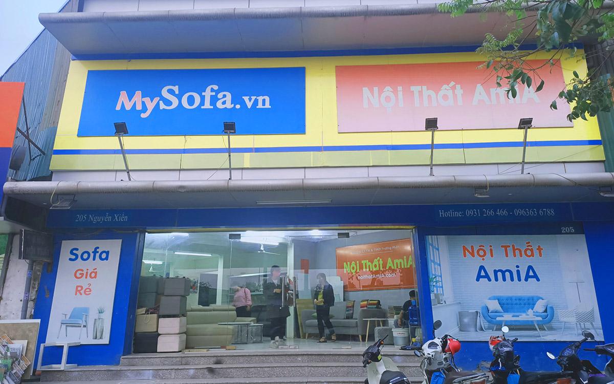 Cửa hàng nội thất AmiA- trưng bày nhiều mẫu sofa đẹp