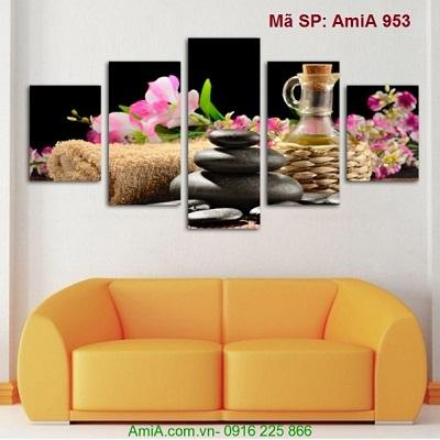 Hinh anh tranh spa trang tri noi that da hoa amia 953