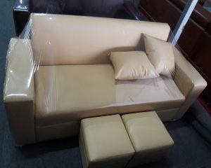 Sofa văng giá rẻ cỡ nhỏ mầu kem