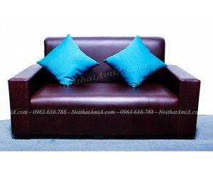 Hình ảnh mẫu ghế sofa văng da đẹp hiện đại cho căn phòng khách đẹp
