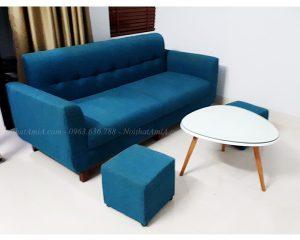 Hình ảnh Ảnh đại diện mẫu ghế sofa văng nỉ đẹp cho căn phòng khách đẹp