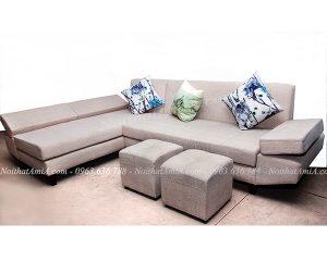 Hình ảnh đại diện ghế sofa nỉ chữ L đẹp hiện đại và sang trọng