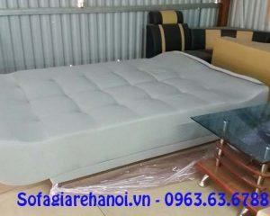 Hình ảnh mẫu ghế sofa giường đẹp hiện đại khi được duỗi ra