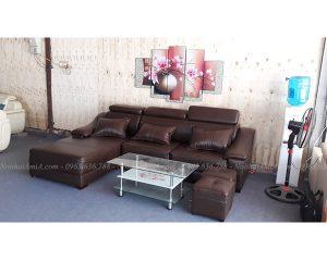 Hình ảnh đại diện mẫu sofa da đẹp chữ L