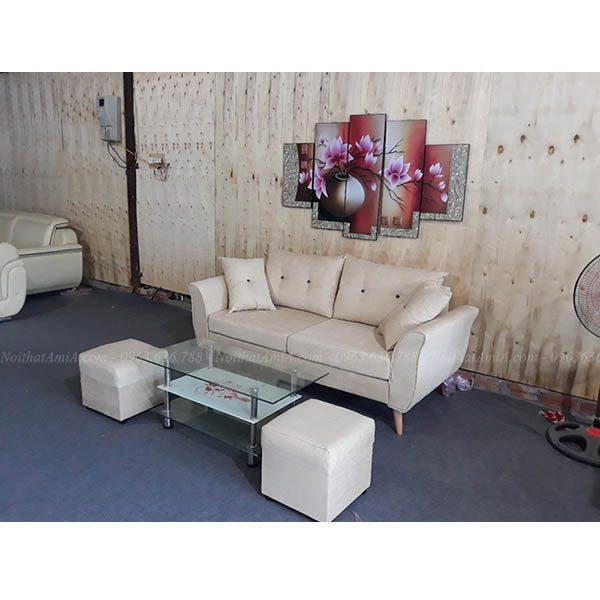 Hình ảnh đại diện mẫu sofa văng nhỏ gọn đẹp hiện đại