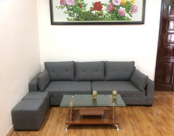 Hình ảnh Sofa văng đẹp kích thước nhỏ xinh cho căn phòng khách nhỏ, nhà nhỏ