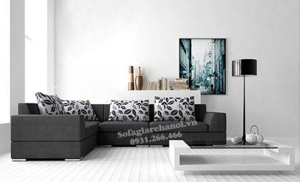 Hình ảnh Ghế sofa nỉ phòng khách đẹp làm theo yêu cầu tại AmiA