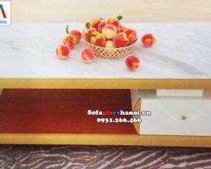 Hình ảnh Bàn trà sofa Hà Nội kê phòng khách đẹp hiện đại và sang trọng