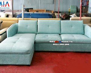 Hình ảnh Sofa nỉ chữ L cho phòng khách đẹp hiện đại và sang trọng
