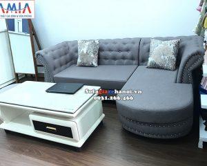 Hình ảnh sofa nỉ cho phòng khách nhỏ xinh xắn