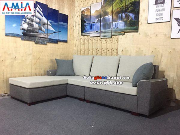 Hình ảnh ghế sofa nỉ đẹp giá rẻ cho phòng khách chung cư