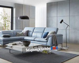 Hình ảnh sofa da đẹp cho phòng khách hiện đại