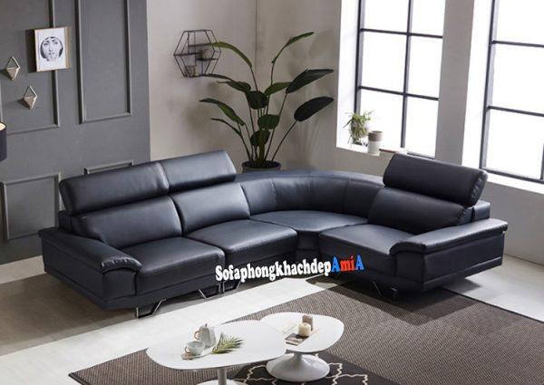 Hình ảnh Sofa da cao cấp phòng khách đẹp cho nhà biệt thự